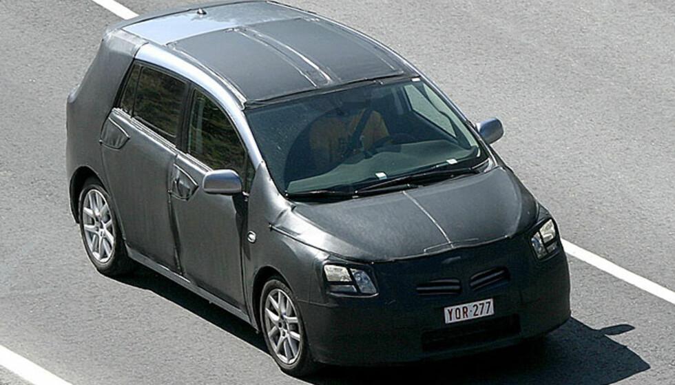 Store bilder: Ny fleksi fra Toyota