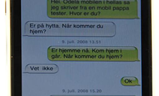 Genial SMS-visning