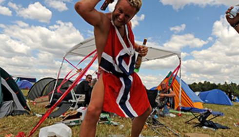 Nordmenn hater feriefylla - så lenge de ikke drikker selv da... Foto: Hans Kristian Krogh-Hanssen