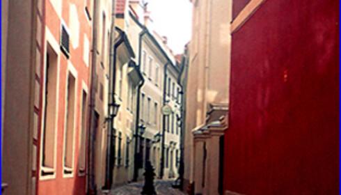 Gatene i gamlebyen i Riga. Foto: Ewa Treska, sxc.hu