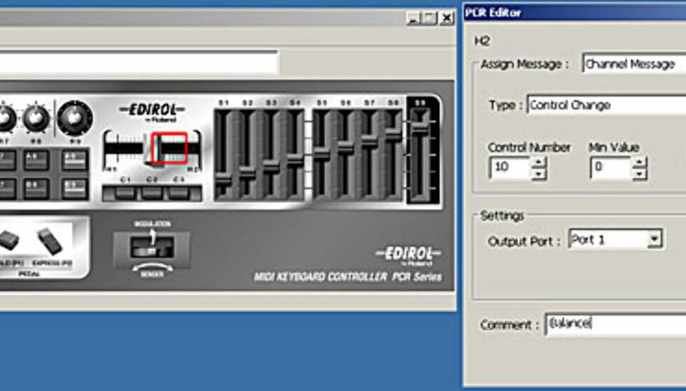 Smart keyboard med mye programvare