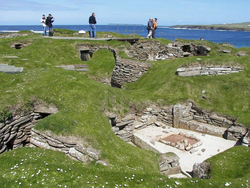 På levningene etter landsbyen Skara Brae sanser man historien. Foto: www.photito.com