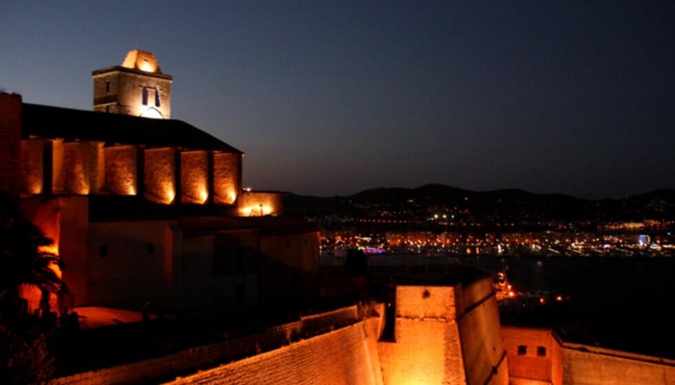 Dalt Vila, fortet som overvåker Ibizas sentrum. Foto: Kim Jansson