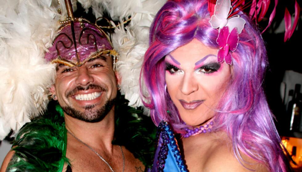 Nei, det er Ibiza, ikke karneval i Rio. Foto: Kim Jansson