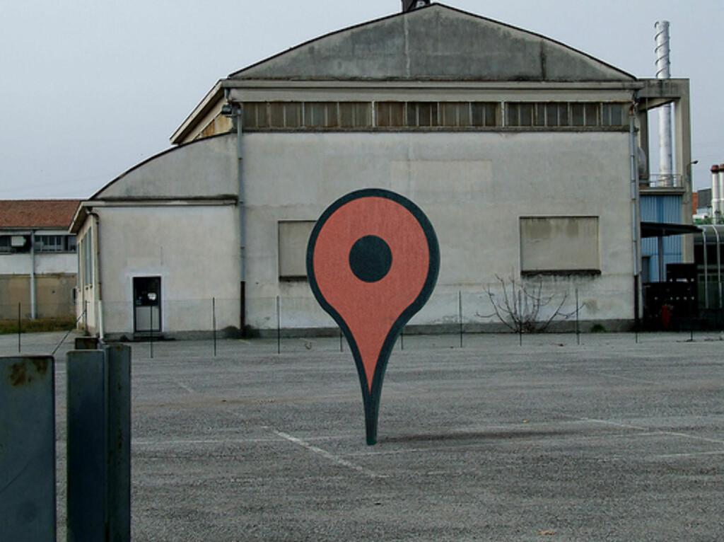 Google Maps i virkeligheten. Foto: Paulthewineguy