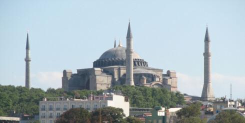 Vakre Hagia Sophia i Istanbul.Foto: Eyup Salman Foto: Eyup Salman