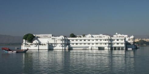 Fantastiske Lake Palace i Udaipur. Foto: Sam Segar Foto: Sam Segar