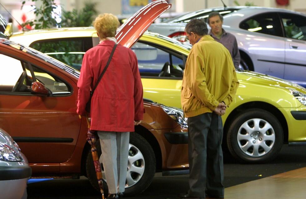 Kjøpte færre biler i mai