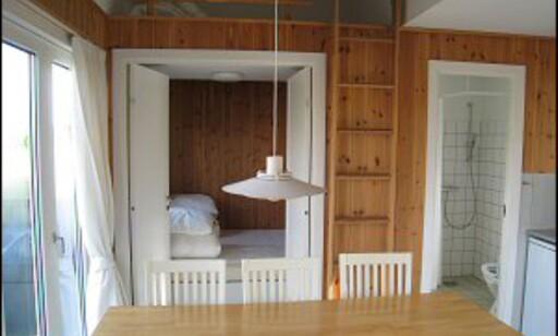 Eget bad, et lite soverom, og en hems. Foto: Maren Synnevåg