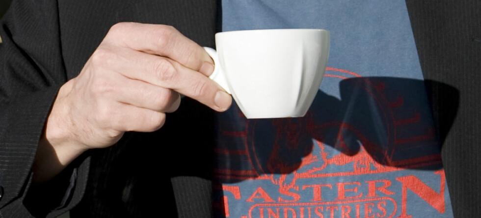 Drikker han espresso eller cappucino? Kaffen forteller hvem du er. FOTO: Colourbox.com
