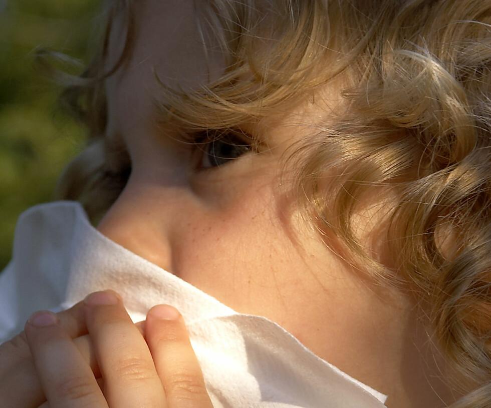 Pollensesongen er ofte veldig plagsom. FOTO: Colourbox.com Foto: MAXPPP