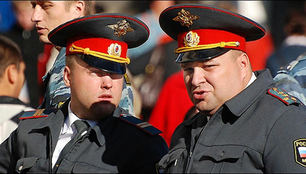 De flest som bor i St. Petersburg vet at du skal holde deg unna politiet om du trenger hjelp eller ikke...<i>Foto: sxc.hu</i>