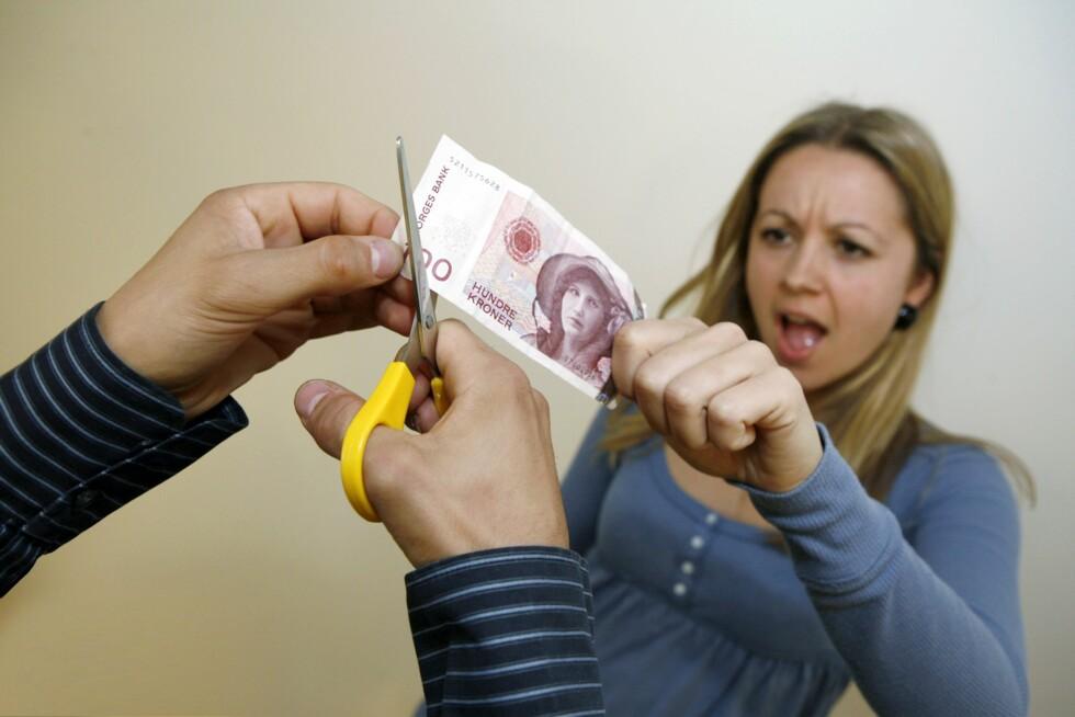 Med pengene i fond har mange kunder fått avkortete sparepengene sine. Foto: Per Ervlan Foto: Per Ervland