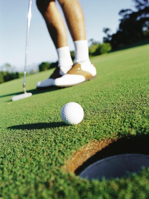 Golf er ikke bare for velstående vestkantfolk med for mye fritid. Illustrasjon: colourbox.com Foto: colourbox.com