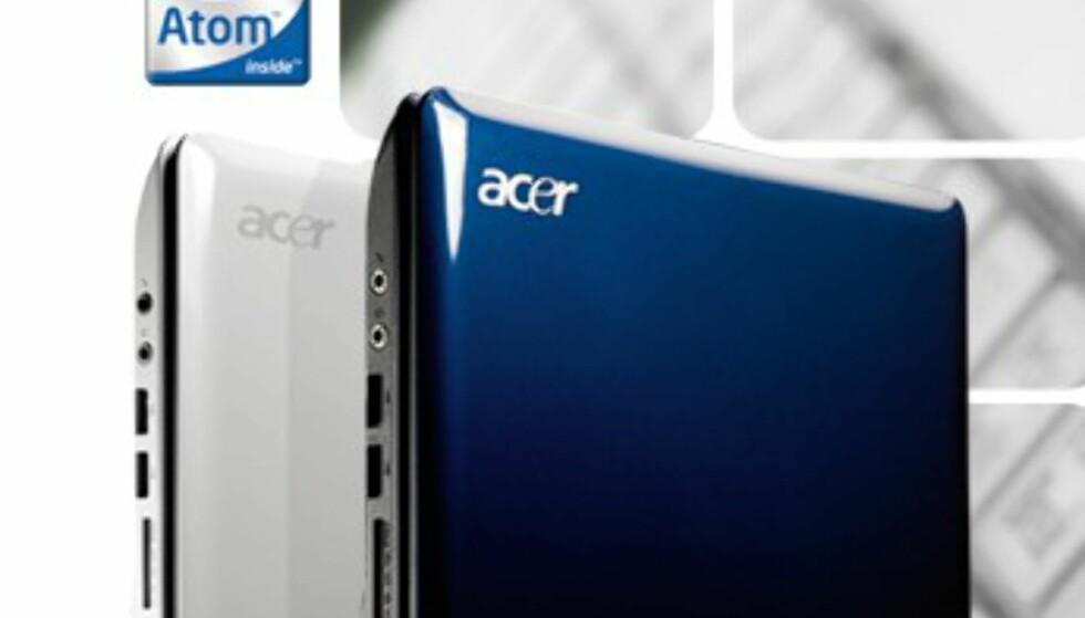 Acer Aspire One vil koste rundt 2 800 kroner. Kommer til Norge i juli.