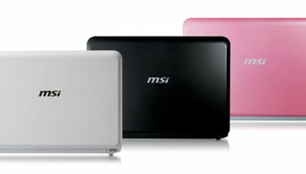 MSI Wind har både Windows XP og en vanlig harddisk. Prisen blir ca 3.500 kroner. Kommer til Norge i juli.