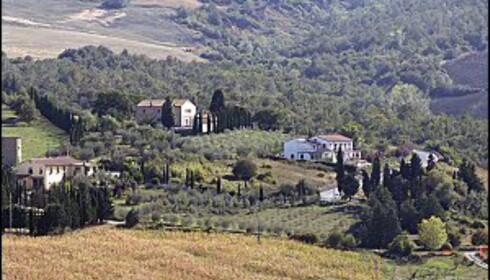 Toscana er stedet for kulinariske nytelser. Foto: Colourbox