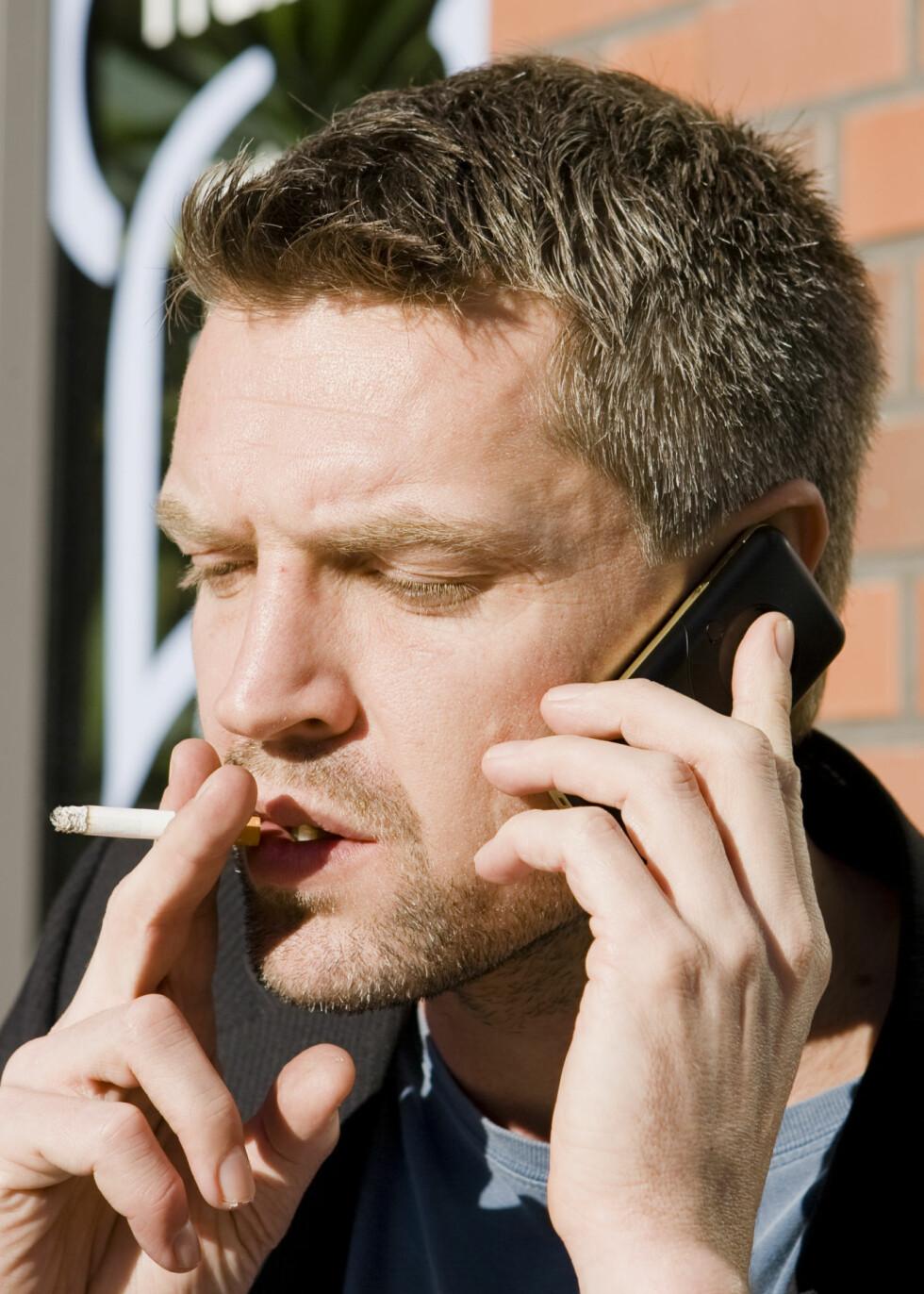 Mange har problemer med å slutte å røyke. FOTO:Colourbox.com