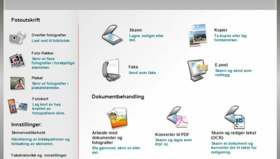 Lite å utsette på brukervennligheten og funksjonaliteten i Lexmar Productivity Studio.