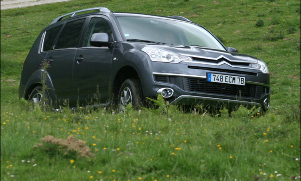 image: Store bilder: Citroën C-Crosser