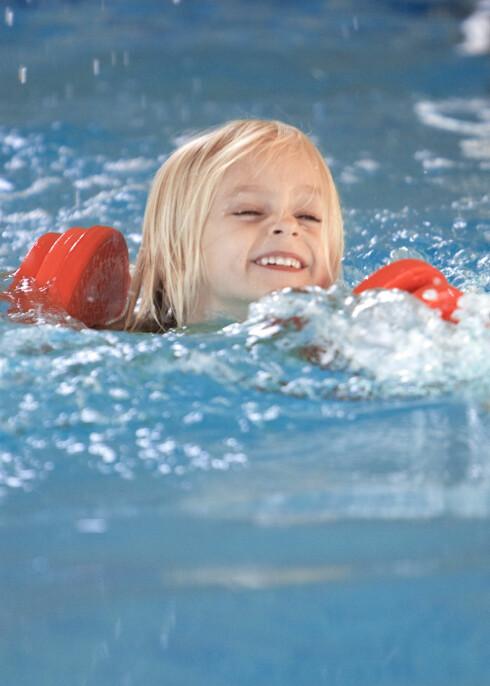 Vær obs på barnas flytemidler, de kan gi falsk trygghet. Illustrasjonsfoto: colourbox.com  Foto: Foto: colourbox.com