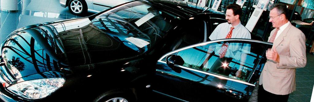 Bilselgere kan gjøre det svært godt økonomisk. <i> Illustrasjonsbilde: Colourbox.com </i> Foto: colourbox.com