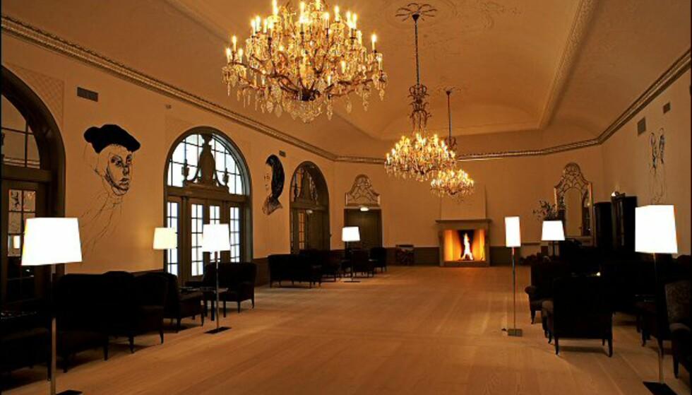 Denne miksen av moderne og dekadent er hotellbaren et god eksempel på. Foto: Nimb/Tivoli