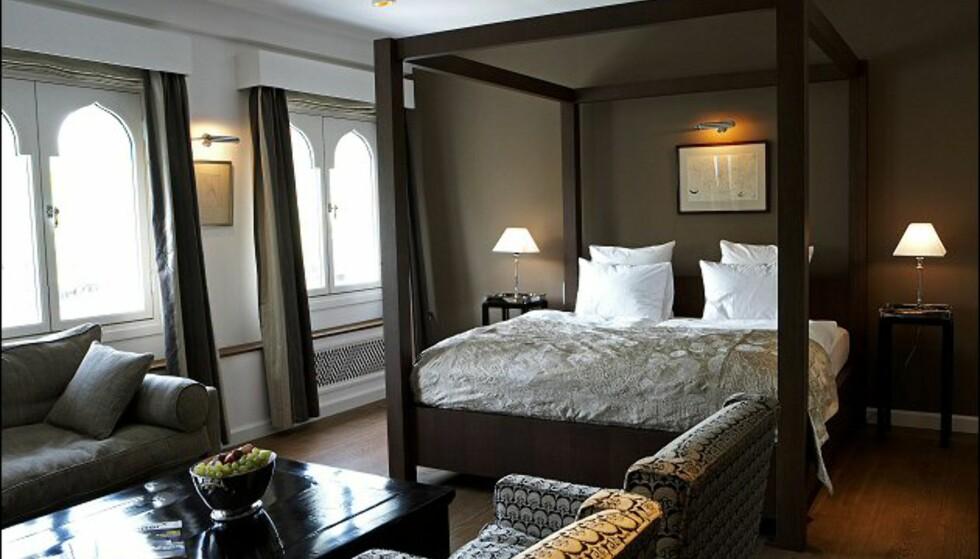Maskulint, men lekkert i denne suiten. Foto: Nimb/Tivoli