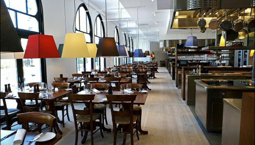 Restauranten kan traktere mange gjester. Foto: Nimb/Tivoli