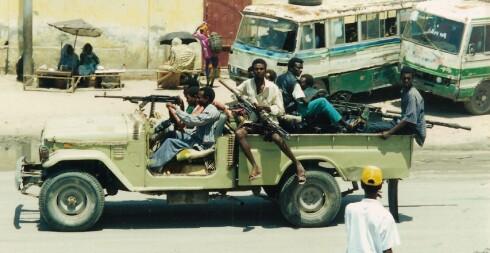 Disse vil du kanskje unngå å treffe på om du har planer om en tur til Mogadishu. Foto: wikipedia.com Foto: wikipedia.com