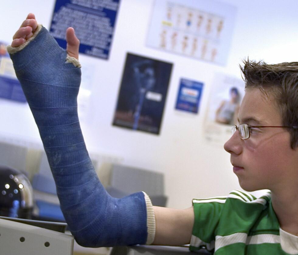 Mange skader tyder på høy aktivitet, og aktivitet er bra for folkehelsa, konkluderer avdelingsoverlege. Illustrasjonsfoto: Colourbox.com Foto: MAXPPP