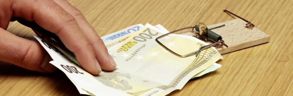 Lånet ditt kan bli dyrere som følge av den internasjonale finansuroen.  Illustrasjonsfoto: Colourbox