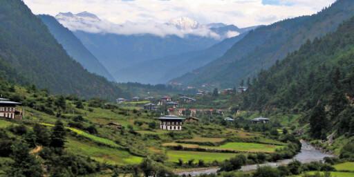 BHUTAN: Nydelig utsikt over Haadalen. Foto: wikipedia.no Foto: wikipedia.no