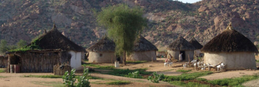 ERITREA: Tidlig morgen i en landsby i Gash Barka. Foto: wikipedia.com Foto: wikipedia.no