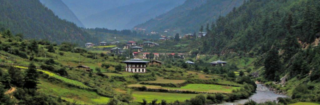 Bhutan er et spennende og annerledes reisemål, og har bare vært åpent for turister siden 1974. Foto: wikipedia.no Foto: wikipedia.no