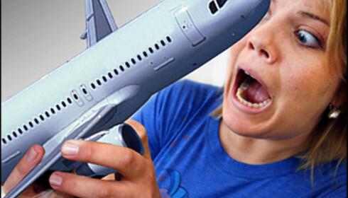 Redd for å fly? Sjansen for at det skjer noe er minimal. Foto: Per Ervland
