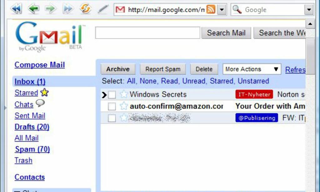 image: Opera + Gmail = sant