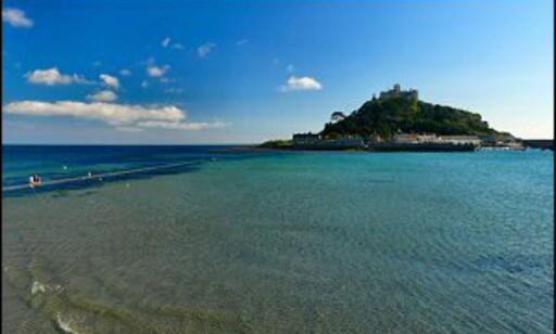 St Michaels Mount er en av Cornwalls viktigste attraksjoner. Foto: www.photito.com