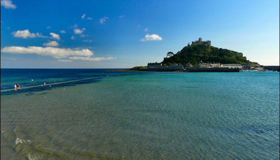 St. Michaels Mount er en av Cornwalls viktigste attraksjoner. Foto: www.photito.com
