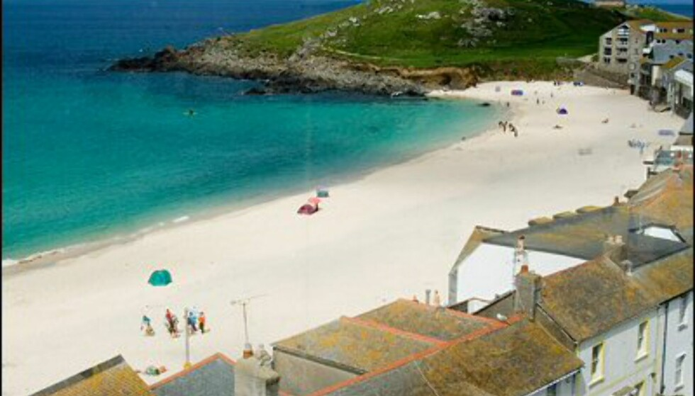 St. Ives er den fineste perlen langs Cornwalls kyst, mener mange. Foto: www.photito.com