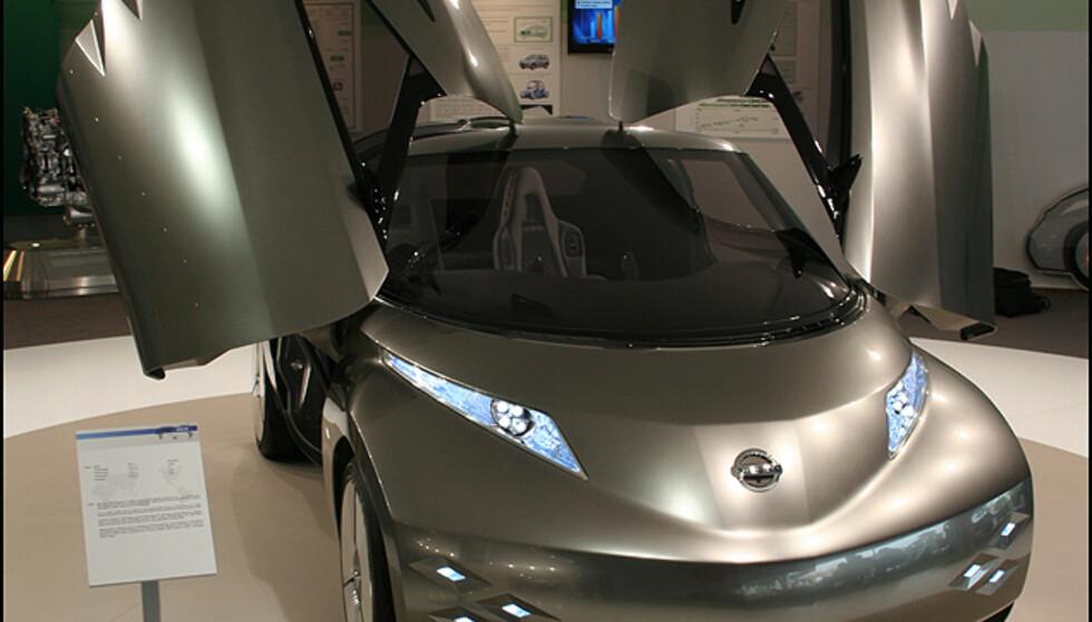 Nissan skal lansere en full-elektrisk bil i overskuelig fremtid. Her er forvarselet: Konsept-by-bilen Mixim.