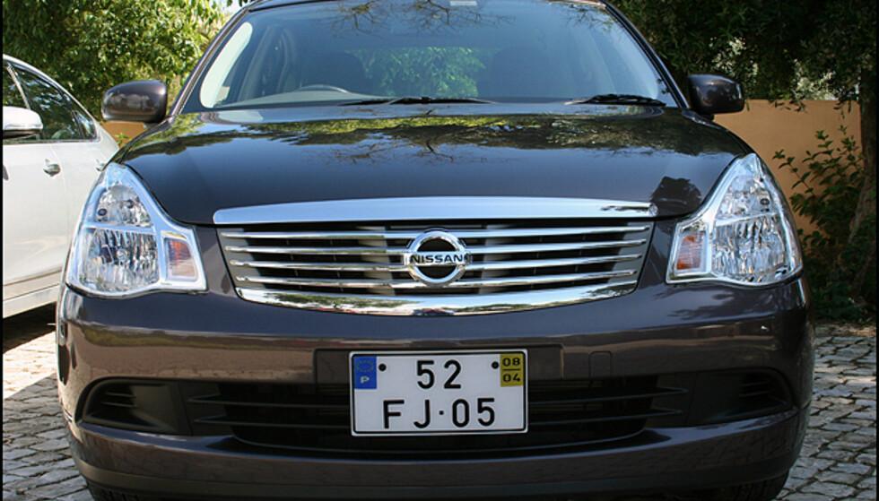 Nissan Bluebird (jo, den finnes fortsatt!)
