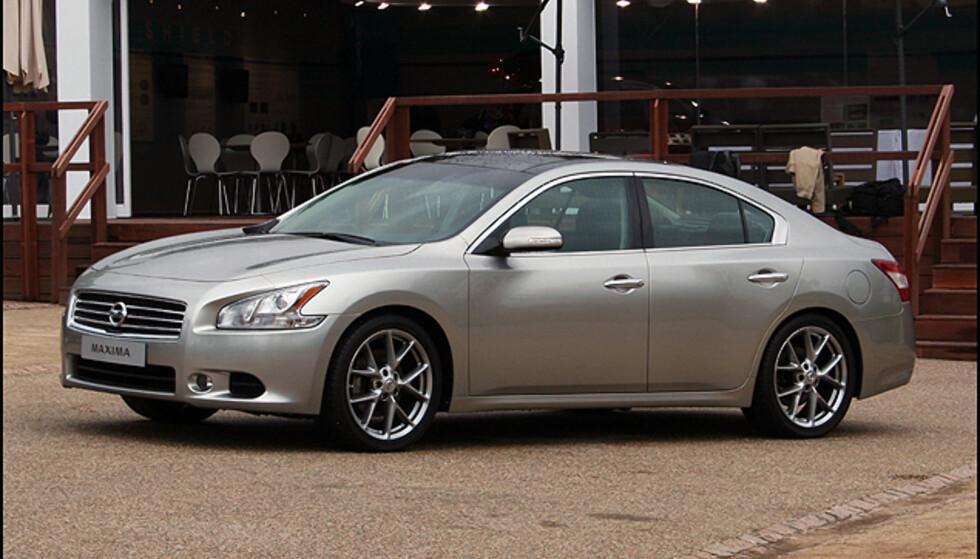 <strong>Nye Nissan Maxima:</strong> En nærmest luksuriøs storbil.