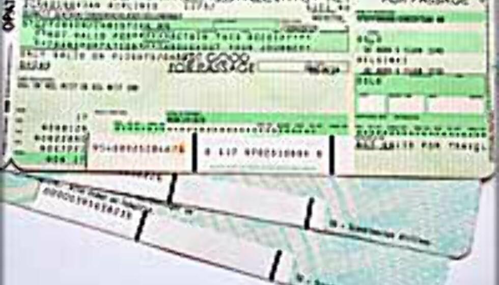Slutt på papirbilletter på fly