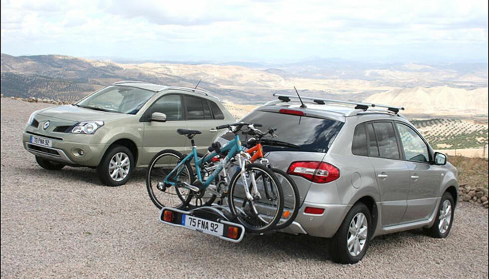 Bilene kan selvsagt leveres med diverse ekstrautstyr og tilbehør.