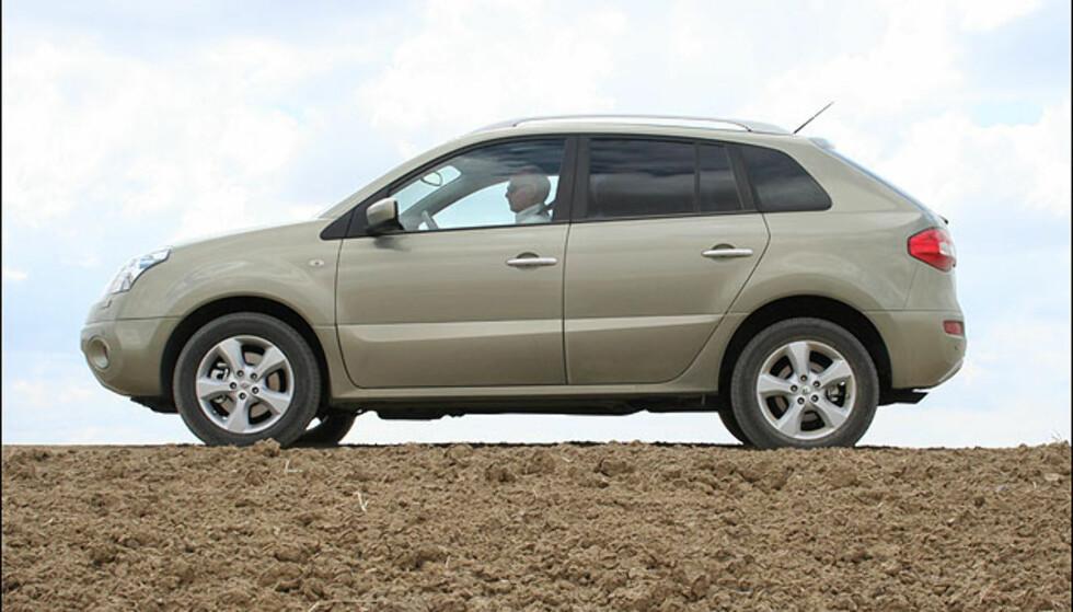 Profilen synes vi minner noe om Opel Antara.