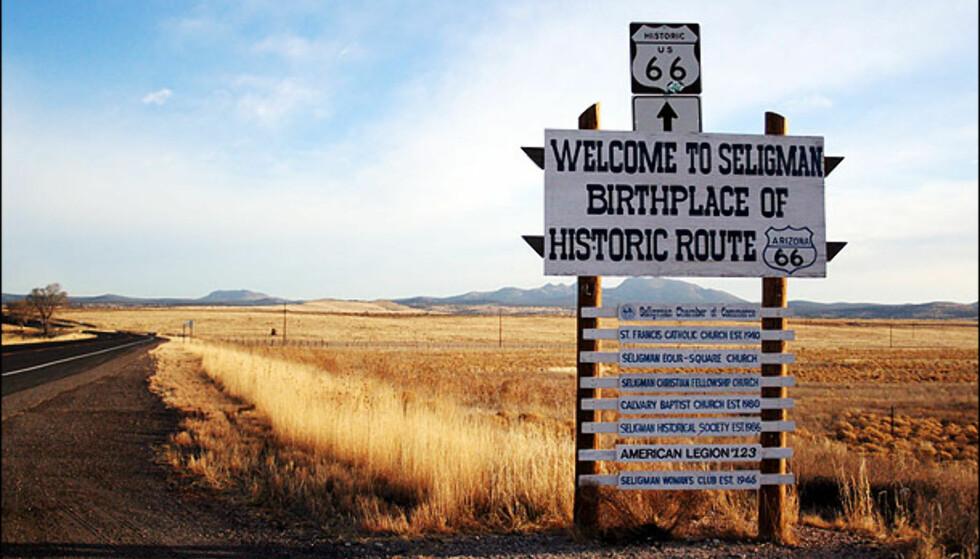 Er Route 66 veien til ungdomskilden? Foto: Vibeke Montero