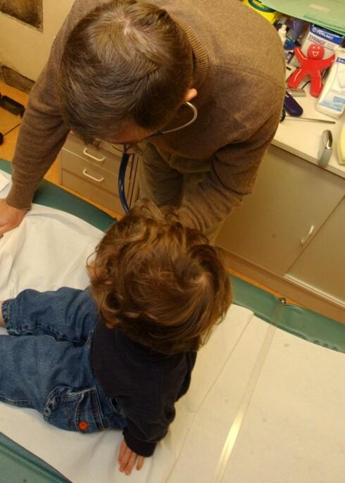 Barn født med keisersnitt har flere pusteproblemer etter fødselen. Illustrasjonsfoto: Colourbox Foto: colourbox.com