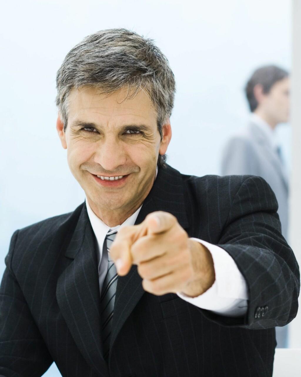 Avslør om din nye sjef er et fjols - før du takker ja til jobben. Illustrasjonsfoto: Colourbox.no. Foto: 6PA/MAXPPP