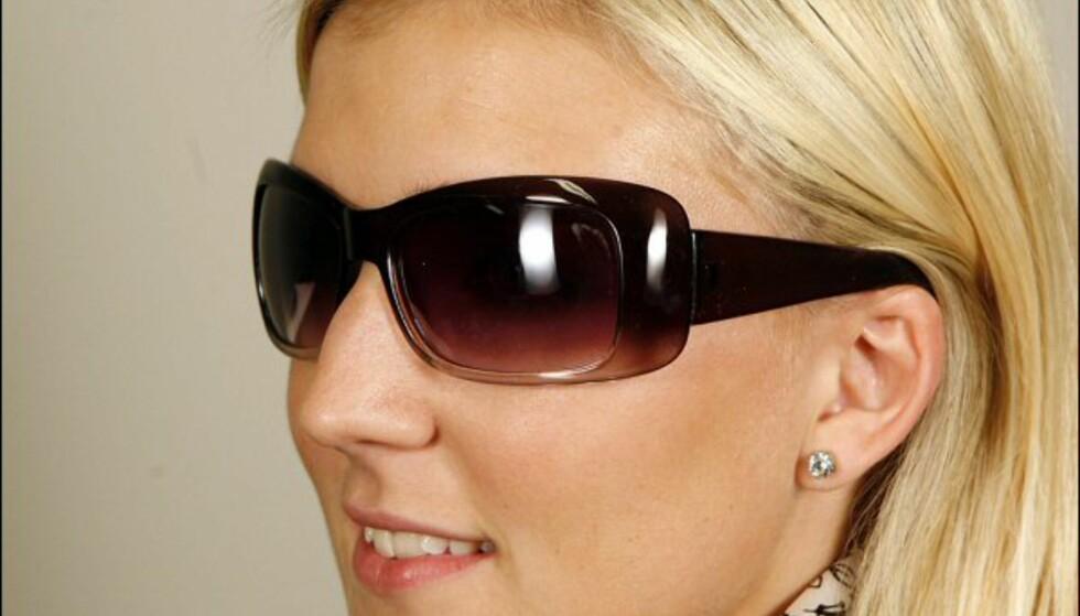 Store rektangulære plastbriller fra Kaffe til 79 kroner. Foto: Per Ervland Foto: Per Ervland